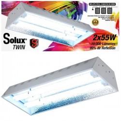 Luminaria Solux Twin 2 x 55w