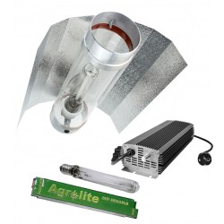 Kit Electrónico Agrolite Regulable + Agrolite 600W + Reflector Cooltube