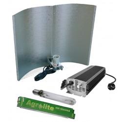 Kit Electrónico Agrolite Regulable + Agrolite 600W + Reflector Adjust-A-Wing